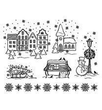 Stempel - Clearstamp -  Weihnachtsstadt -  von ViVa Decor