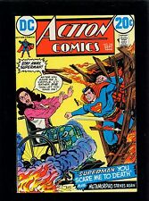 Action Comics 416 VF/NM 9.0 - Large Scans - Printing Error