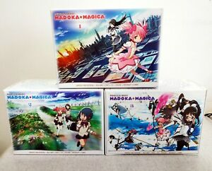 Madoka Magica dvd + blu ray + colonna sonora + artbook + Nendoroid anime DELUXE