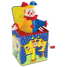 Jack in the Box Original Clown Jester Classic Toys Kids Toy Gifts Schylling Toys