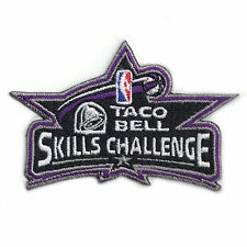 Taco Bell Skills Challenge NBA Basketball Embroidered Jersey Patch