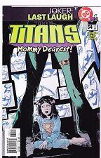 TITANS #34 / JOKER LAST LAUGH / 2001 / DC COMICS