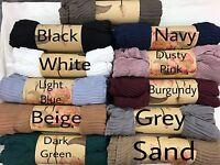New Style Crinkle Plain Cotton Shawl Scarf Hijab Sarong Wrap Cape Big Large Maxi