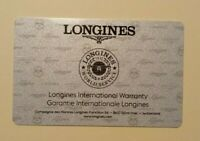 LONGINES SWISS Guarantee Warranty Garanzia Garantia  INTERNATIONAL Gewährleistu