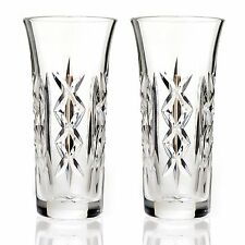 (NIB) Waterford Crystal  2-Pc Rowena Set of Two 10oz. Beverage Glasses