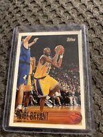 Kobe Bryant 1996-1997 Topps RC Rookie Card #138 Los Angeles Lakers Mamba