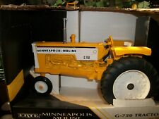 ERTL AGCO WHITE minneapolis moline G750 1/16,1995