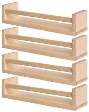 2x IKEA Bekvam Wooden Spice Jar Rack Stand Kitchen Storage Shelf