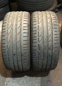 X2 Matching Pair Of 235/40/18 Bridgestone Potenza S001 95Y Tyres