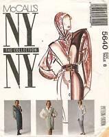 McCall's NY Collection Misses' Jumper,Vest,Blouse &Pants Pattern 5640  8 UNCUT