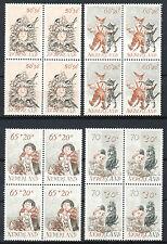 Nederland 1275 - 1278 postfris in blokken van vier