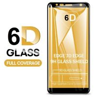 6D Full Cover Tempered Glass Screen Protector For Samsung Galaxy J4 Plus - Black