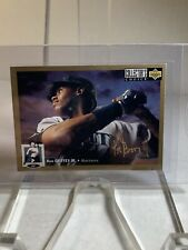 1994 UD Collectors Choice KEN GRIFFEY JR Seattle Mariners GOLD Signature #117