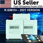 2021 R-SIM15+ Nano Unlock RSIM Card For iPhone 12 11 Pro XS MAX XR X 8 7 6s LOT