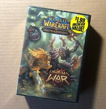 World of Warcraft: Drums of War PVP Battle Deck (WoW TCG Upper Deck) New/Sealed