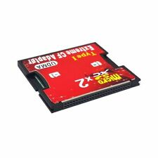 Dual Slot TF Micro SD to Type I Compact Flash Card CF Reader Adapter for Nikon
