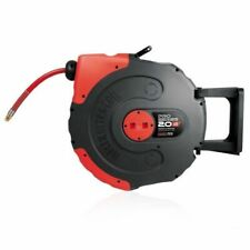 Jamec PEM Pro Series Helix Retractable Air Hose Reel 300psi 20m