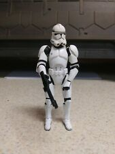 Star Wars Imperial Clone Trooper Hasbro 2004 Quickdraw 3.75 Action Figure