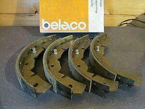 GS296 MGR13  New Front Belaco Brake Shoes Bedford HA Beagle Vauxhall Viva