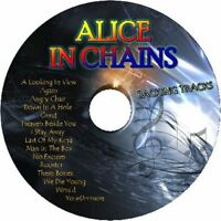 ALICE IN CHAINS GUITAR BACKING TRACKS CD BEST GREATEST HITS MUSIC PLAY ALONG
