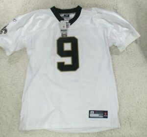 Drew Brees Jersey New Orleans Saints Authentic On Field White Sewn Mens 54