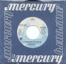 TWIGGY - A WOMAN IN LOVE - MERCURY LBL - PROMO 45 - '77