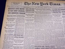 1937 FEBRUARY 22 NEW YORK TIMES - ROOSEVELT TO TEST COURT STRENGTH - NT 3407