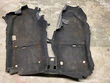 93-97 Honda Del Sol Oem Floor Carpet Black 0460