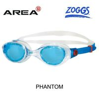 ZOGGS PHANTOM TINTED SWIMMING GOGGLES , BLUE CLEAR, SWIMMING GOGGLES