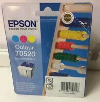 Epson T0520 Original Tintenpatrone Colour 3-farbig Cyan, Magenta, Yellow
