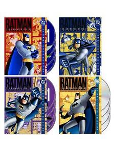 "BATMAN THE COMPLETE ANIMATED SERIES 1-4 COLLECTION 16 DISCS BOX SET R4 ""NEW"""