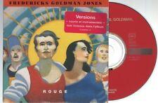 JEAN JACQUES GOLDMAN rouge CD SINGLE