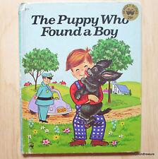 The Puppy Who Found A Boy by Irma Wilde - Wonder Books 1974