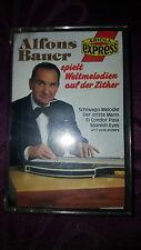 Musikkassette Alfons Bauer spielt Weltmelodien auf der Zither - Album 1986