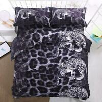 3D Leopard Print Animal Leopard KEP2519 Bed Pillowcases Quilt Duvet Cover Kay