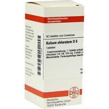 KALIUM CHLORAT D 6 80St Tabletten PZN:1775269