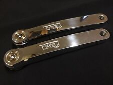 White Industries 180 mm ENO POLISHED CrankSet for Square Taper spindles