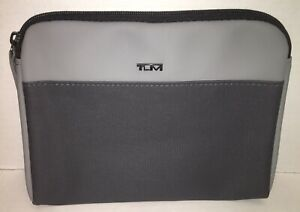 Tumi Small Gray Pouch Toiletry Bag