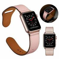Retro Echtleder Watch Band Classic Armband für iWatch Mode 2 4 Serie 1 3 S8Y1