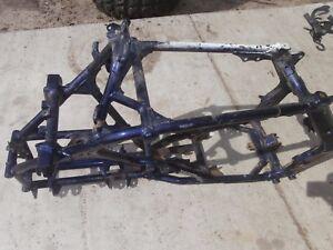 06 2006 Suzuki Quadracer LTR450 LTR 450 Genuine Frame Chassis OEM Stock Blue