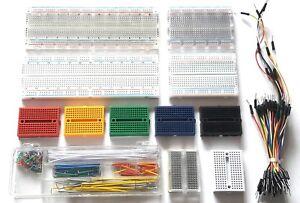 Solderless Prototype Breadboard (Various Sizes) + Optional 65/140pc Jumper Wires