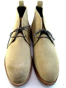 "NEW Allen Edmonds ""NOMAD"" Suede Chukka Boots 9.5 D Bone Suede  (503)"