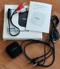 Mpow Streambot Pro Wireless Bluetooth 5.0 TV Transmitter Aux Adapter H281AB