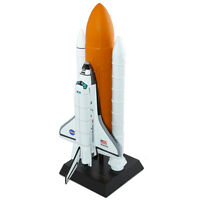 NASA US Space Shuttle Atlantis Orbiter 1/100 Full Stack Desk Display ES Model