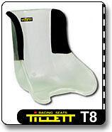 Tillett T8 1/4 couverts Kart siège large neuf -