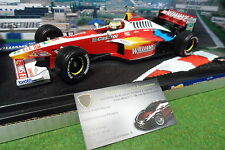 F1 WILLIAMS FW21 SCHUMACHER #6 au 1/18 HOT WHEELS 24622 formule 1 miniature