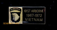 101ST AIRBORNE VIETNAM LAPEL HAT PIN FORT CAMPBELL Screaming Eagles US ARMY GIFT