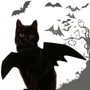 1pcs Pet Cat Bat Wing Cosplay Prop Halloween Fancy Dress Costume Outfit Wings LY