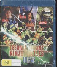 TEENAGE MUTANT NINJA TURTLES III -  TURTLES IN TIME - BLU-RAY