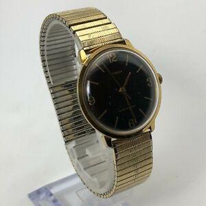 Vintage 1979 Timex Marlin Series Mechanic Men's Watch Wind Up